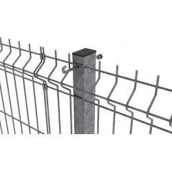 Stalp zincat pentru panouri bordurate 60x40x2mm 2.5m