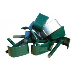 Clema verde pentru prindere panou bordurat