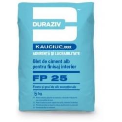 Glet de finisare Duraziv FP25 5Kg