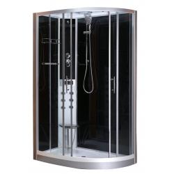 Cabine de dus cu hidromasaj Sanotechnik CL120 (Vario - stanga)