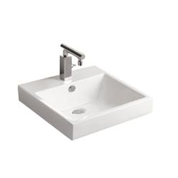 Lavoar ceramic alb pentru mobilier Sanotechnik K610