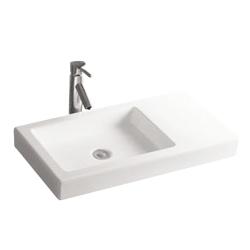 Lavoar ceramic alb pentru mobilier Sanotechnik K516