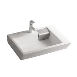 Lavoar ceramic alb pentru mobilier Sanotechnik K810