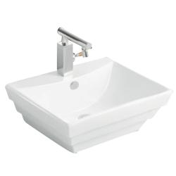Lavoar ceramic alb pentru mobilier Sanotechnik K2259