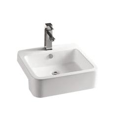 Lavoar ceramic alb pentru mobilier Sanotechnik K711