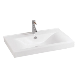 Lavoar ceramic alb pentru mobilier Sanotechnik K821