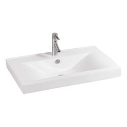 Lavoar ceramic alb pentru mobilier Sanotechnik K822