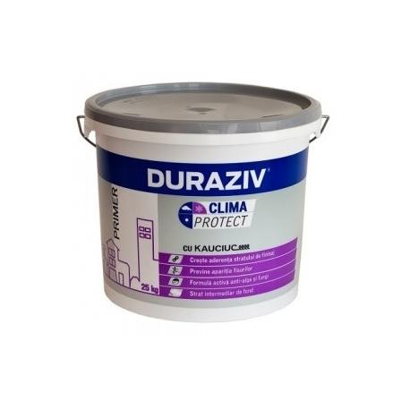 Amorsa pentru tencuiala decorativa Duraziv Clima Potect cu Kauciuc 25Kg