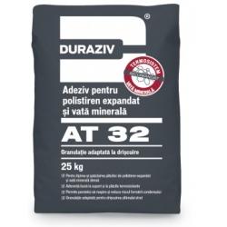 Adeziv pentru polistiren si vata minerala Duraziv AT32 25Kg
