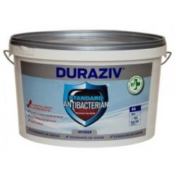 Vopsea lavabila alba pentru interior Duraziv Standard Antibacterian 10L