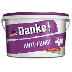 Vopsea lavabila alba pentru baie si bucatarie Danke Anti Fungi 4L