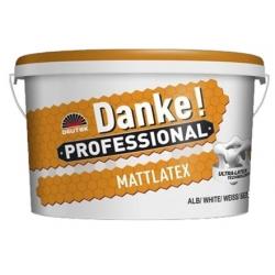 Vopsea lavabila alba pe baza de latex Danke Mattlatex 15L