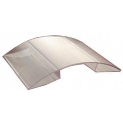 Profil policarbonat de coama 4mm 6m