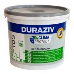 Tencuiala decorativa Duraziv Clima Protect cu Kauciuc 25Kg (scoarta de copac)