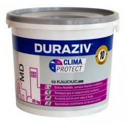 Tencuiala decorativa Duraziv Clima Protect cu Kauciuc 25Kg (bob de orez)