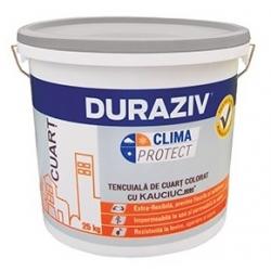 Tencuiala decorativa pentru soclu Duraziv Clima Protect cu Kauciuc 25Kg