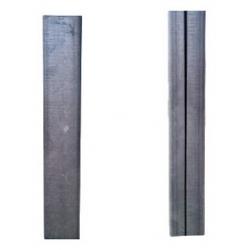 Stalp zincat pentru panouri bordurate 50x40x1.5mm 2.0m