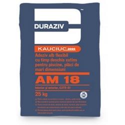 Adeziv flexibil pentru piscine Duraziv AM14 25Kg