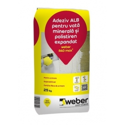 Adeziv si masa de spaclu Weber R40 25Kg Alb