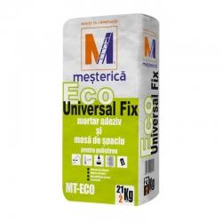 Adeziv si masa de spaclu Mesterica Eco Universal Fix 23Kg
