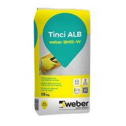 Tinci alb Weber BM15-W 25kg