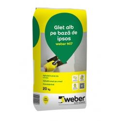 Glet alb Weber N17 20Kg