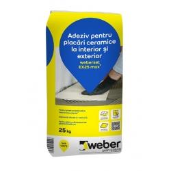 Adeziv placari ceramice Weberset EX25 25Kg