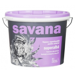 Vopsea superlavabila, exterior Savana
