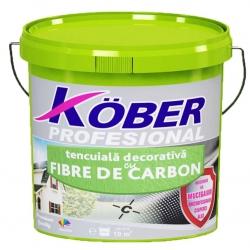Tencuiala decorativa cu fibre de carbon Kober Profesional 25Kg