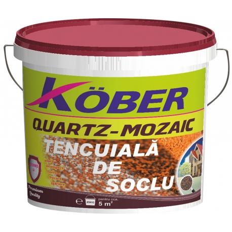 Tencuiala mozaicata pentru soclu Kober 25Kg