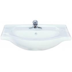 Lavoar ceramic alb pentru mobilier Sanotechnik HCB6164