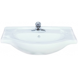 Lavoar ceramic alb pentru mobilier Sanotechnik HCB6130