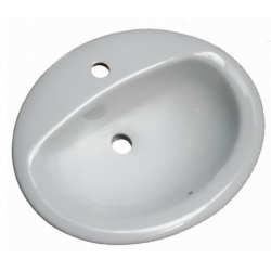 Lavoar ceramic alb incastrat Sanotechnik HCL5010