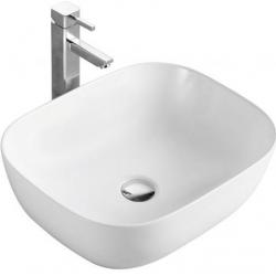 Lavoar ceramic alb pentru mobilier Sanotechnik K421