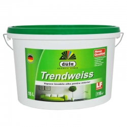 Vopsea lavabila alba Dufa Trendweiss 15L