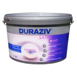 Vopsea ultralavabila alba pentru interior Duraziv Satin Expert