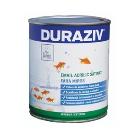 Email acrilic satinat Duraziv Eco Label