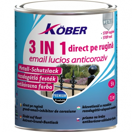 Email anticoroziv pentru metal Kober 3 in 1