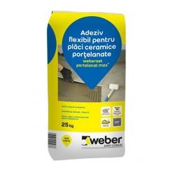 Adeziv placari ceramice Weberset portelanat 25Kg