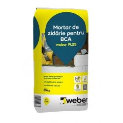 Adeziv pentru BCA Weber PL25 25Kg