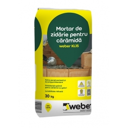 Adeziv pentru caramida Weber KL15 25KG
