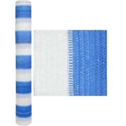 Plasa alb-albastra de umbrire 95% 2x50m