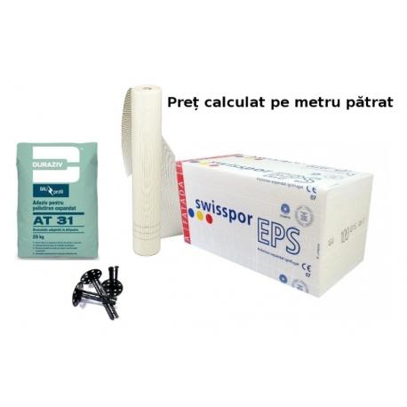 Pachet Termosistem Premium 100mm EPS80