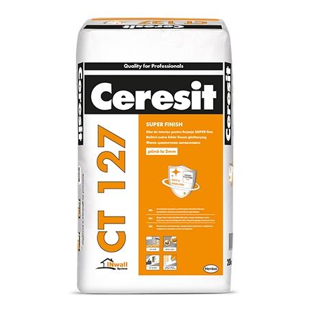 Glet pentru finisaje fine Ceresit CT 127 20Kg
