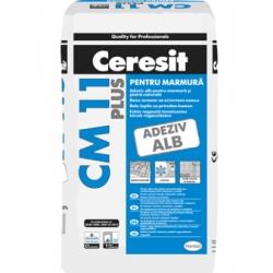 Adeziv pentru placi ceramice Ceresit CM 11 Plus alb 25Kg