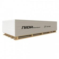 Placa gipscarton standard 12.5x1200x2600 NIDA
