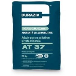 Adeziv pentru polistiren si vata minerala Duraziv AT37 20Kg