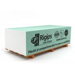 Placa Rigips Verde Mediu Umed 12.5x1200x2600