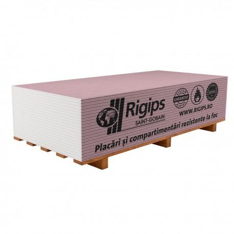Placa gipscarton ignifuga 12.5x1200x2600 Rigips