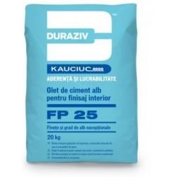 Glet de finisare Duraziv FP25 20Kg